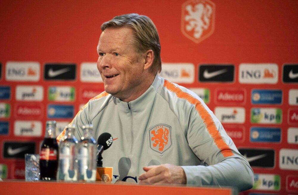 Hollandi peatreener Koeman: mäng Saksamaaga pole kõige tähtsam, hoopis Eestit peame võitma!