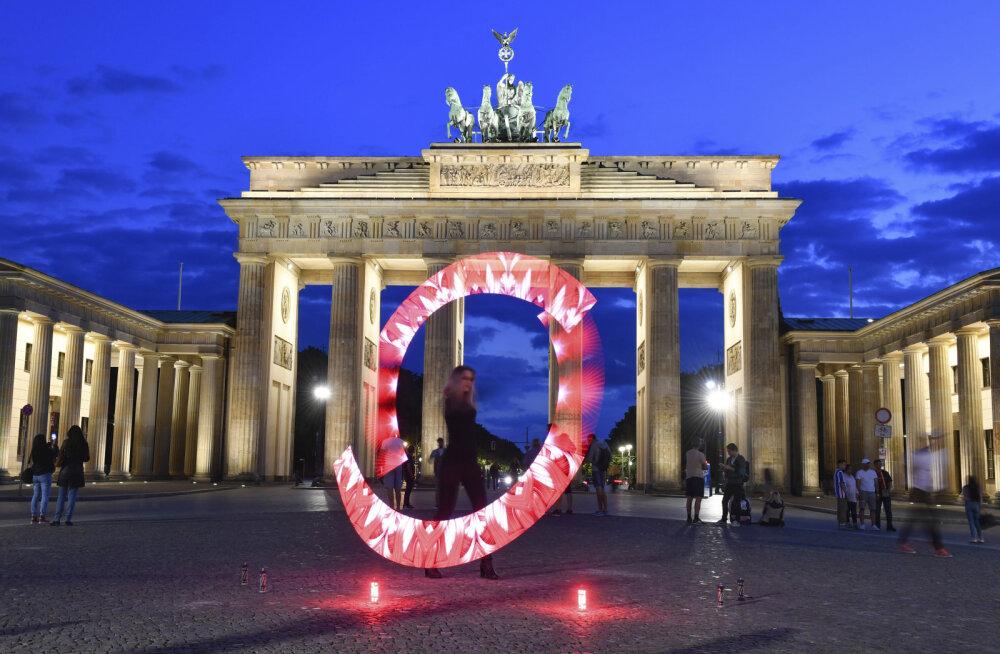 ФОТО | В Германии прошла ночь красных огней