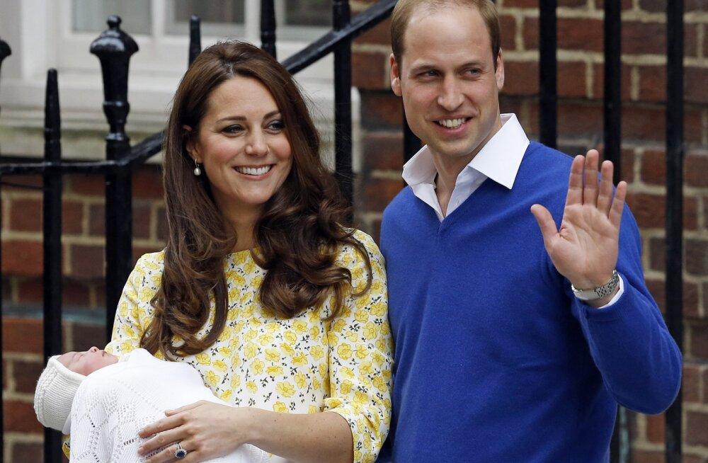 ARMSAD FOTOD   Nagu vanavanaema suust kukkunud! Printsess Charlotte tähistab seninägemata piltidega neljandat sünnipäeva