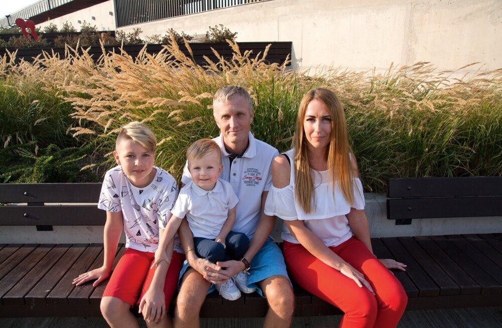 Kerlin ja Vaido vanemal pojal Devin Jordanil Aaronit kantseldada ei palu.