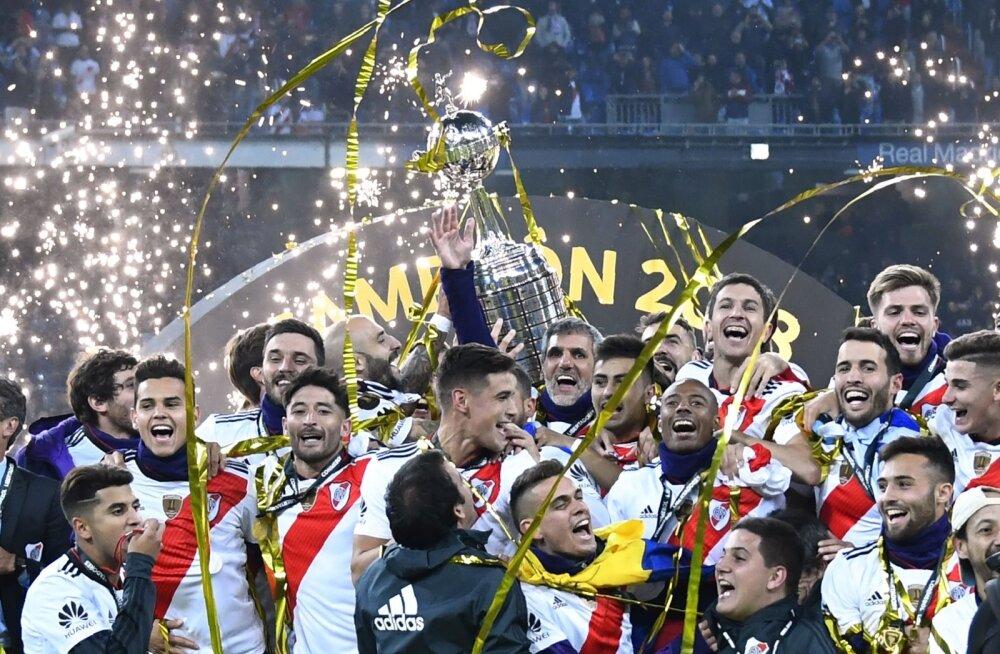 River Plate'i mängijad võisid Madridis võidutantsu lüüa.