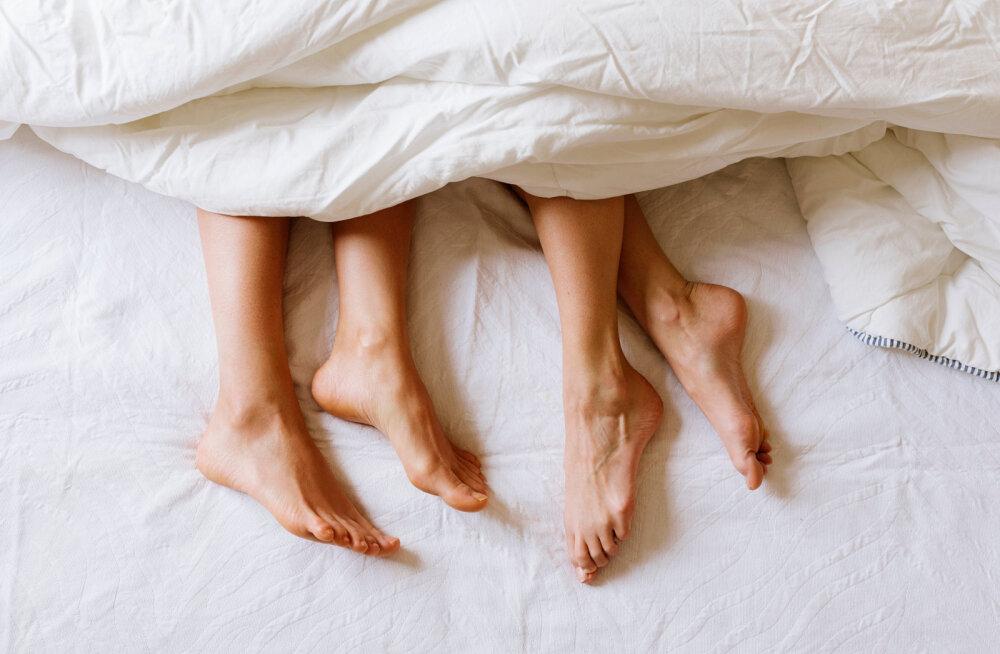 """""""Võid kujutleda mu vaimustust, kui ma koju tulles avastasin, et minu voodis magab kaks tüdrukut!"""""""