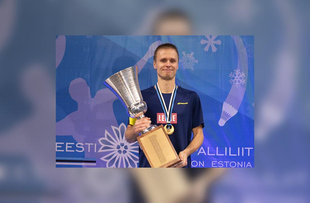 Raul Must tõusis läbi aegade parimaks Eesti sulgpalluriks