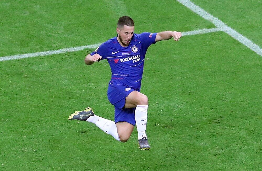 Kõik märgid viitavad, et Eden Hazard maandub lõpuks Madridis.
