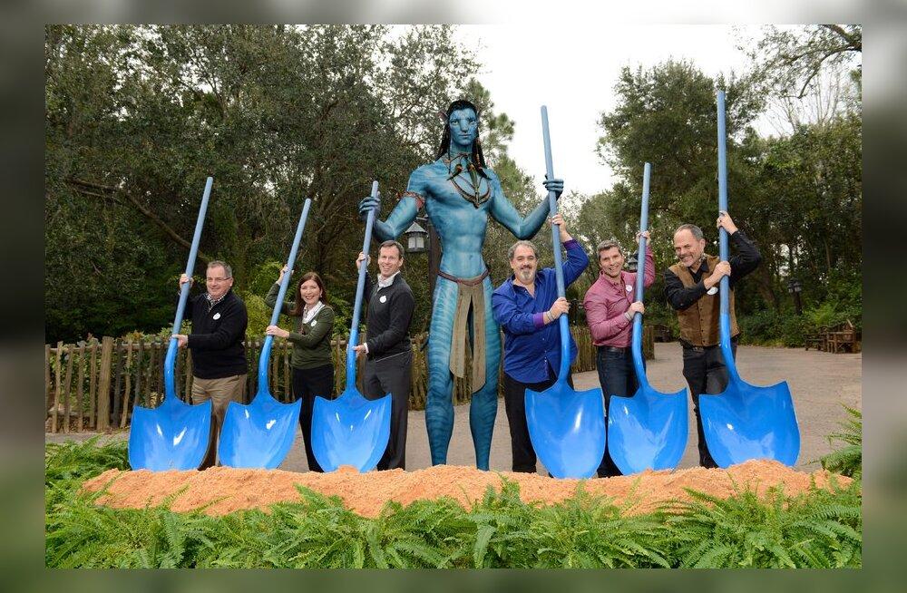 Foto: Avatari teemapargi ehitusel löödi labidas maasse