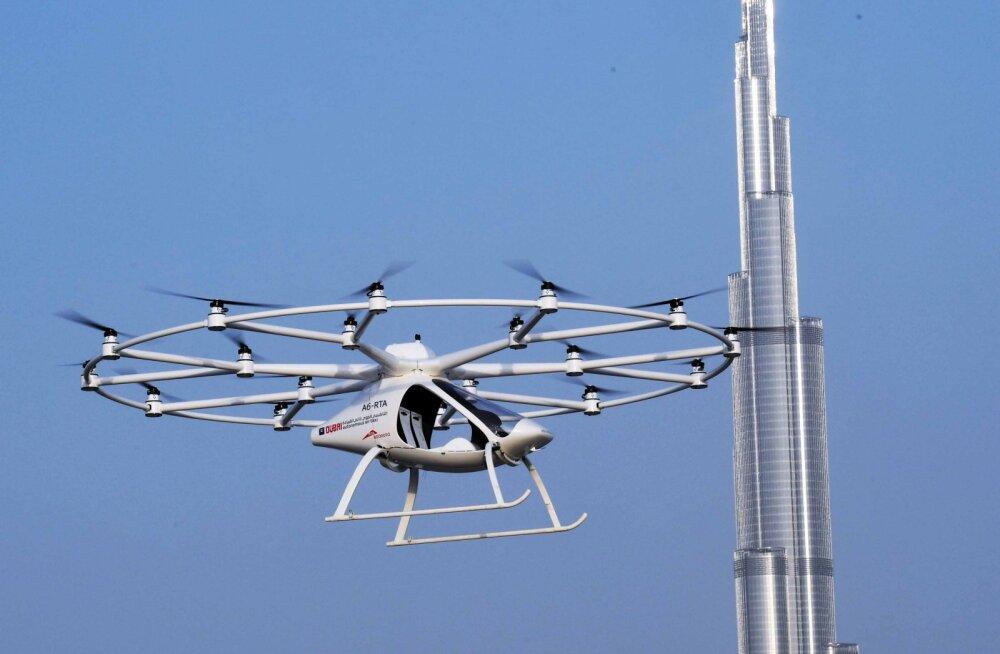 Singapuris hakatakse varsti testima juhtideta helikoptertaksosid