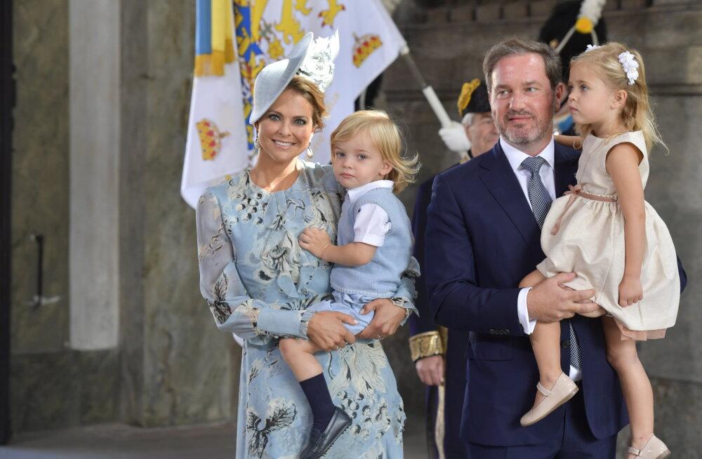 KUNINGLIK RÕÕMUPÄEV: Rootsi printsess Madeleine sai kolmandat korda emaks