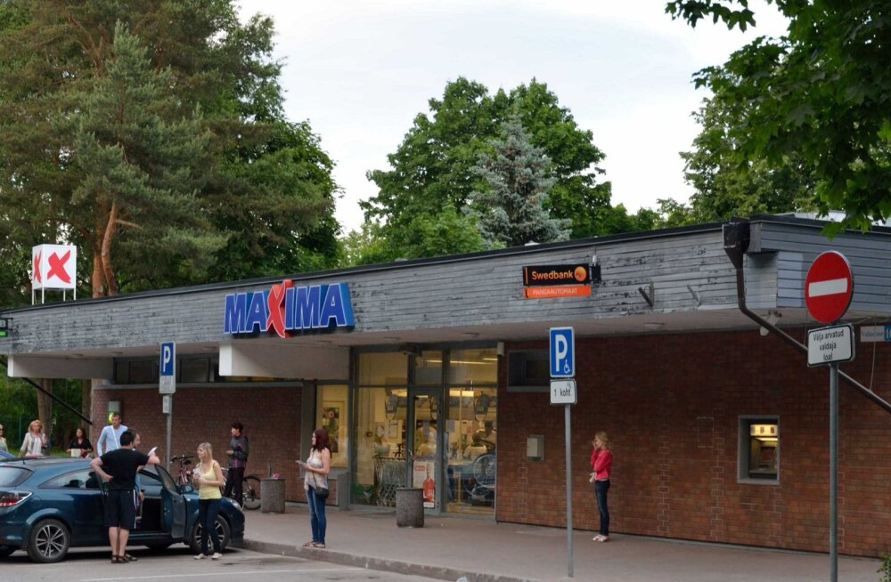 Maxima начала обновление магазина в Нарва-Йыэсуу