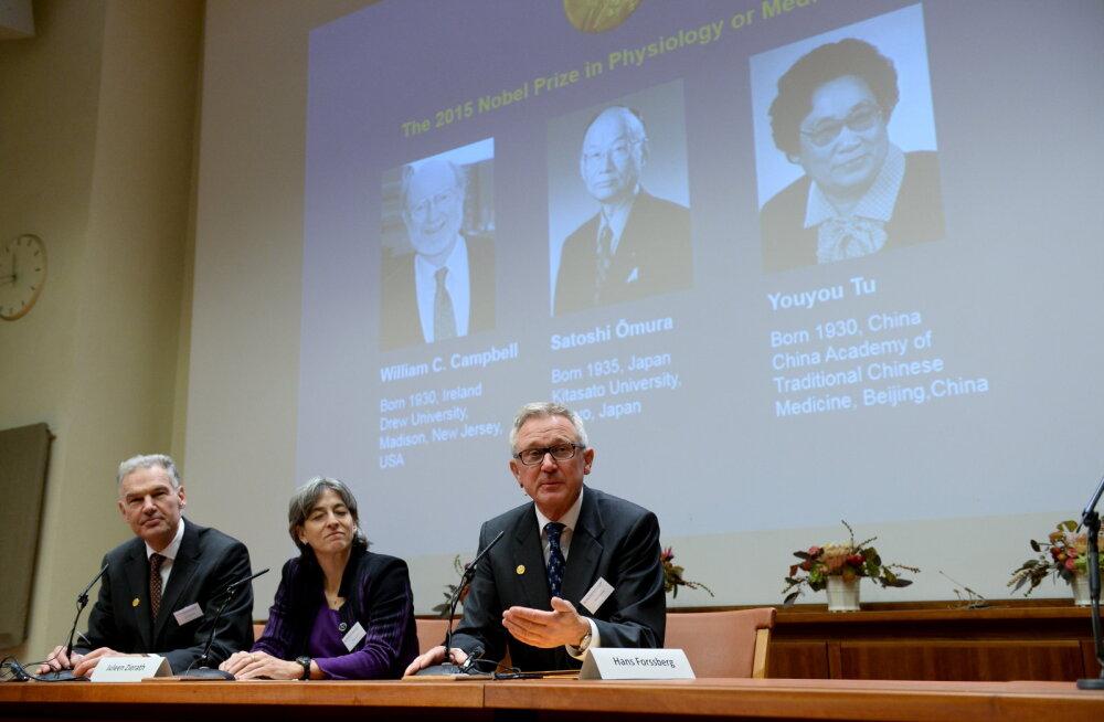 Nobeli meditsiinipreemia pälvisid parasiithaiguste tõrjujad