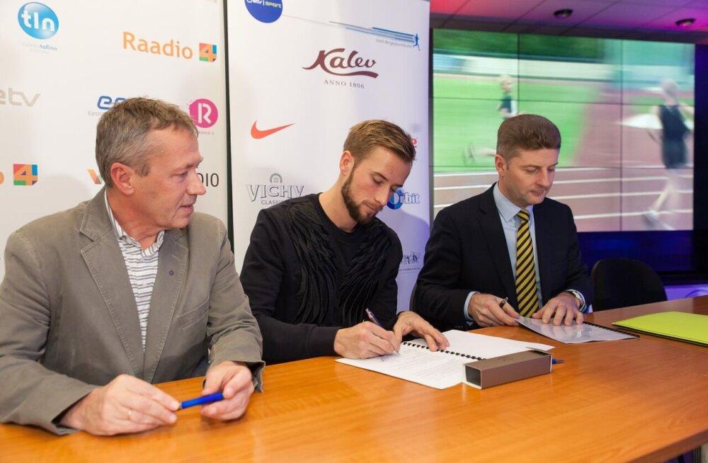 Rasmus Mägi sai uue sponsori