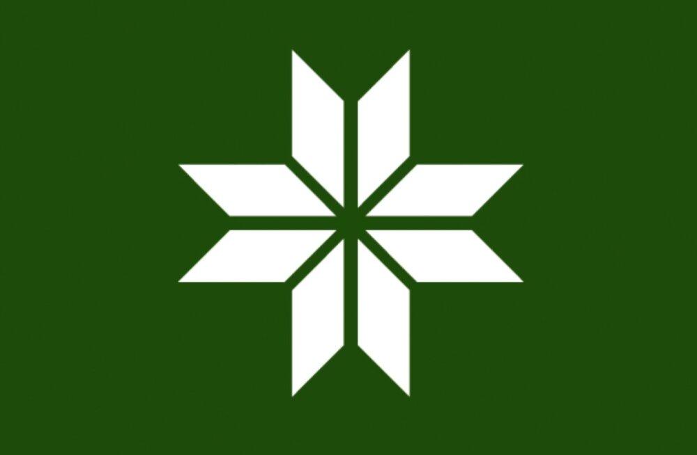 Võru keele ja meele sümbol - võrokeste lipp