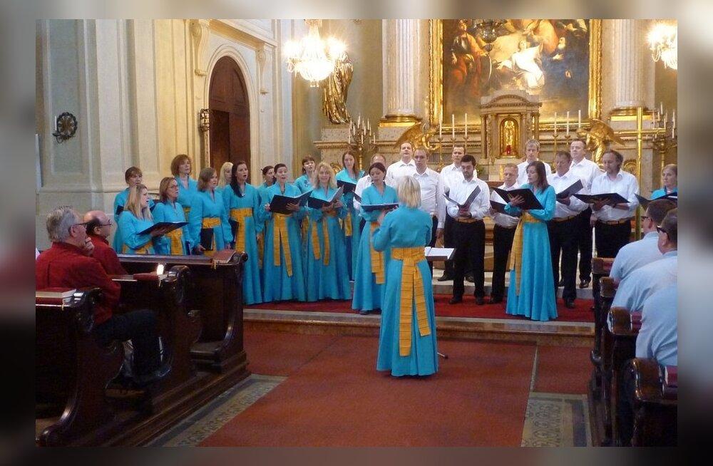 Euroopa kultuuripealinna segakoor võitis Viinis kuld- ja hõbediplomid
