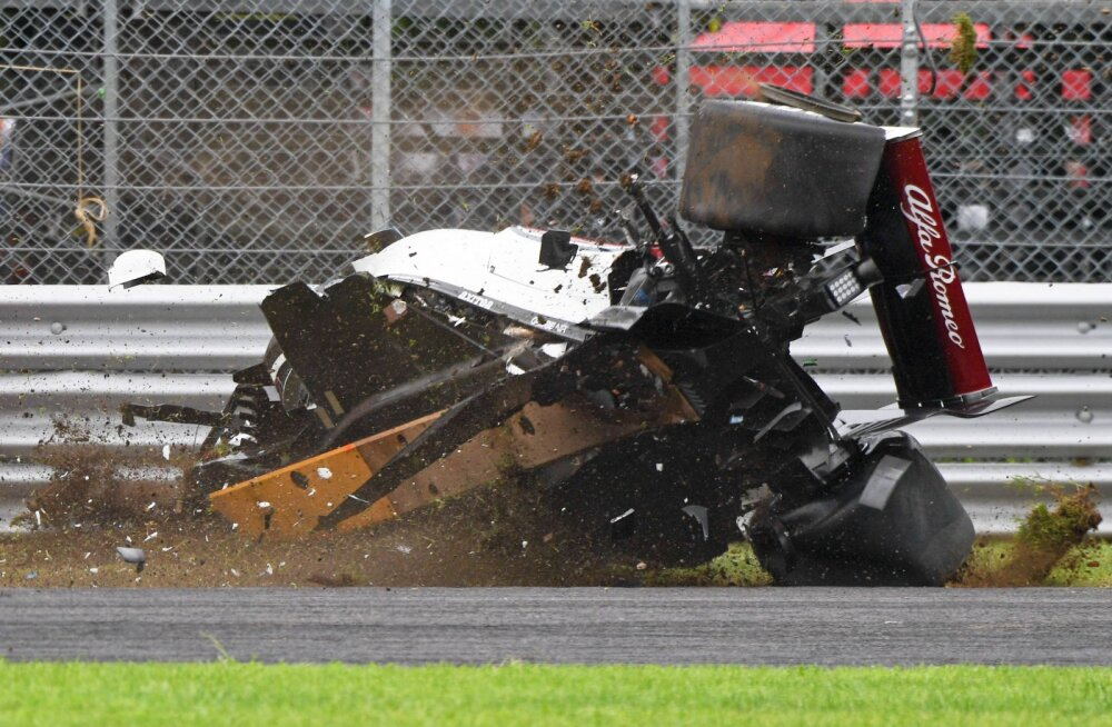 Alfa Romeo šassii hävines FIA avariitestil täielikult