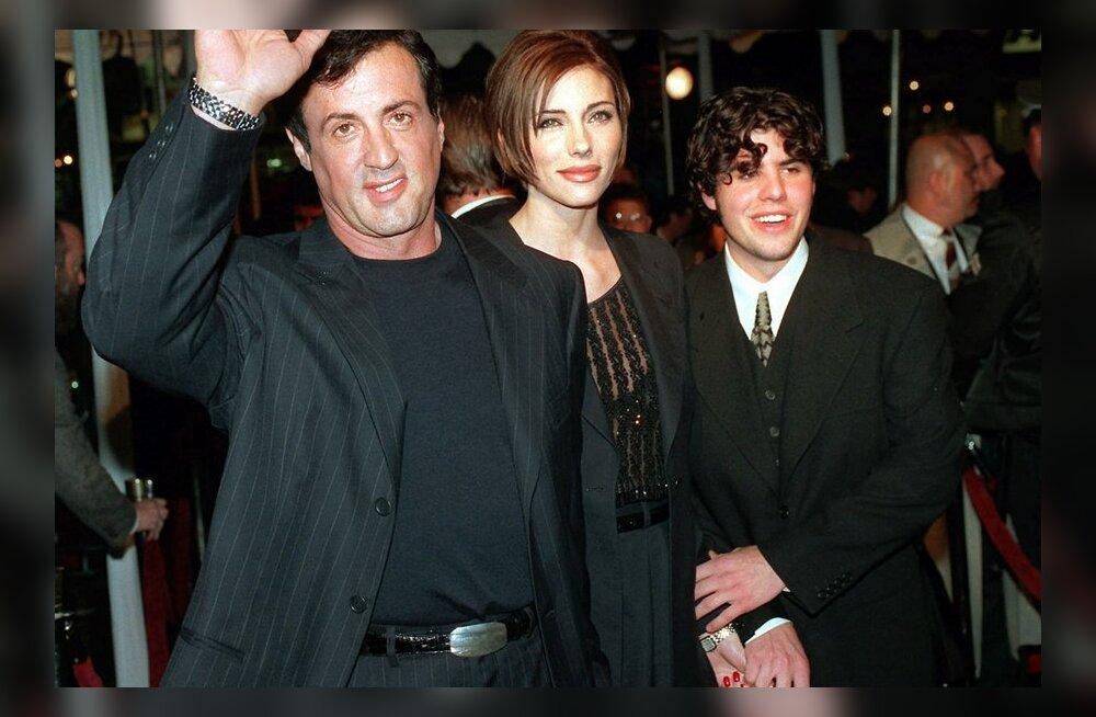 Stallone'i surnud poja toast leiti kokaiini?