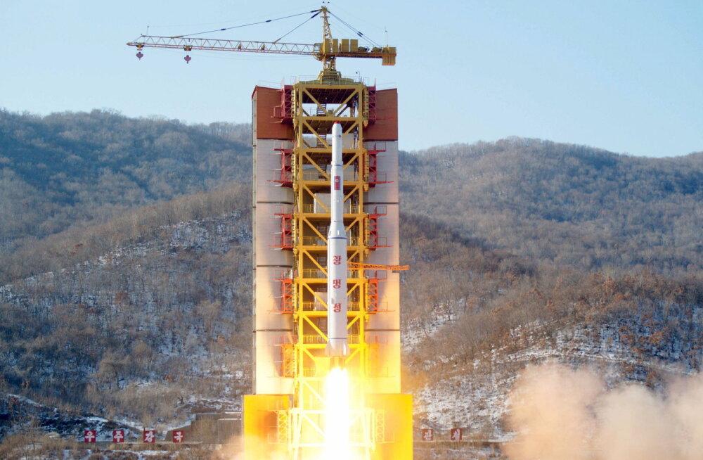 Kohalik meedia: Põhja-Korea viis läbi järjekordse raketikatsetuse