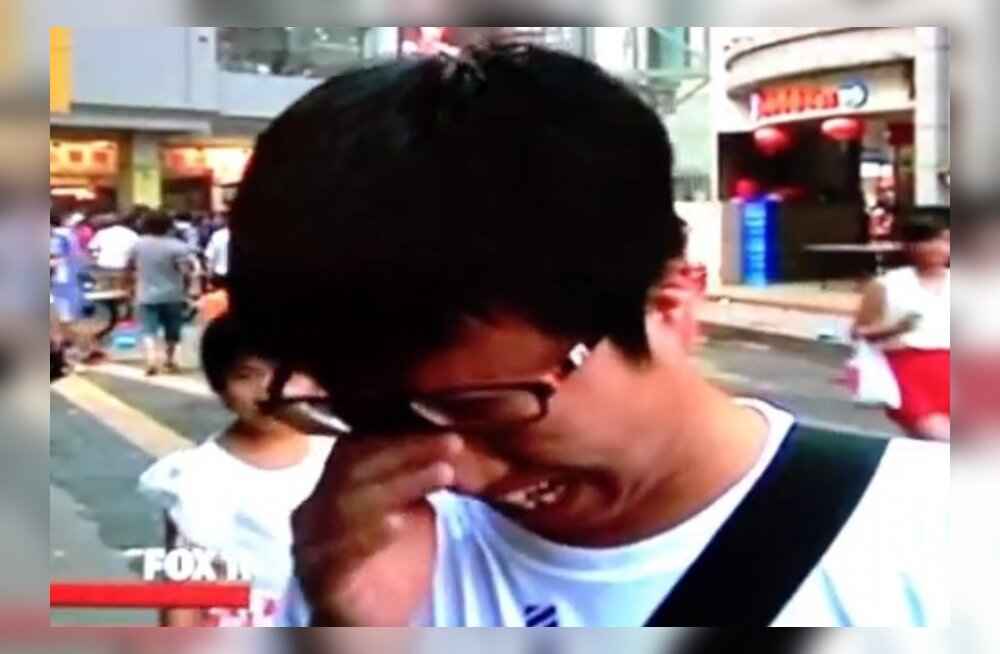 Bryanti nägemine tegi hiinlase emotsionaalseks