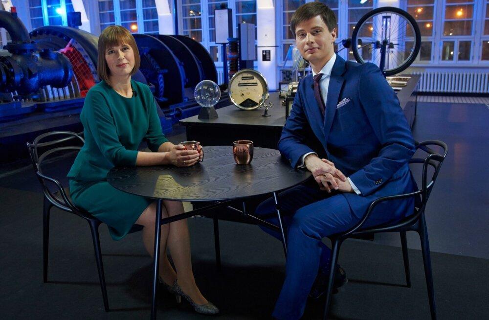 ERR intervjuu Kersti Kaljulaid