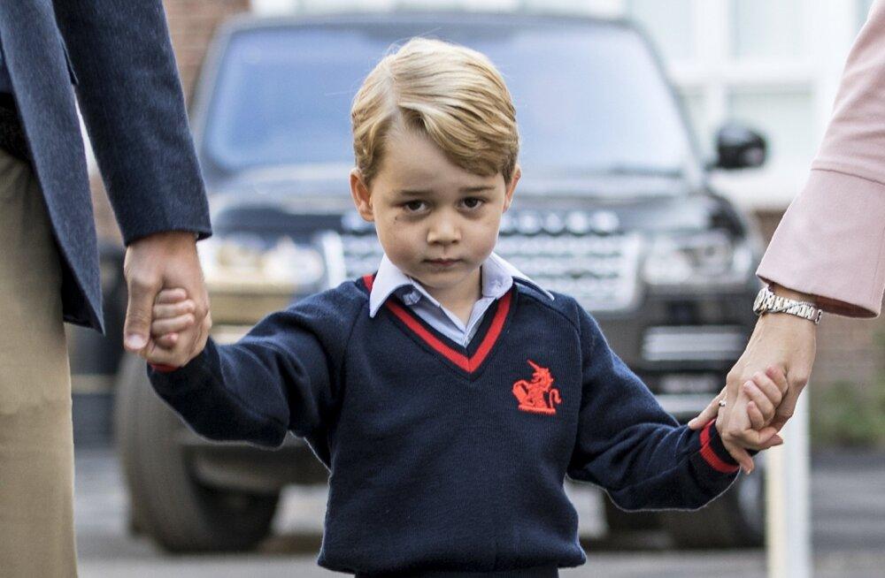 Ka kuninglik pere peab jõule! Saa teada, mida palus jõuluvanalt pisike prints George