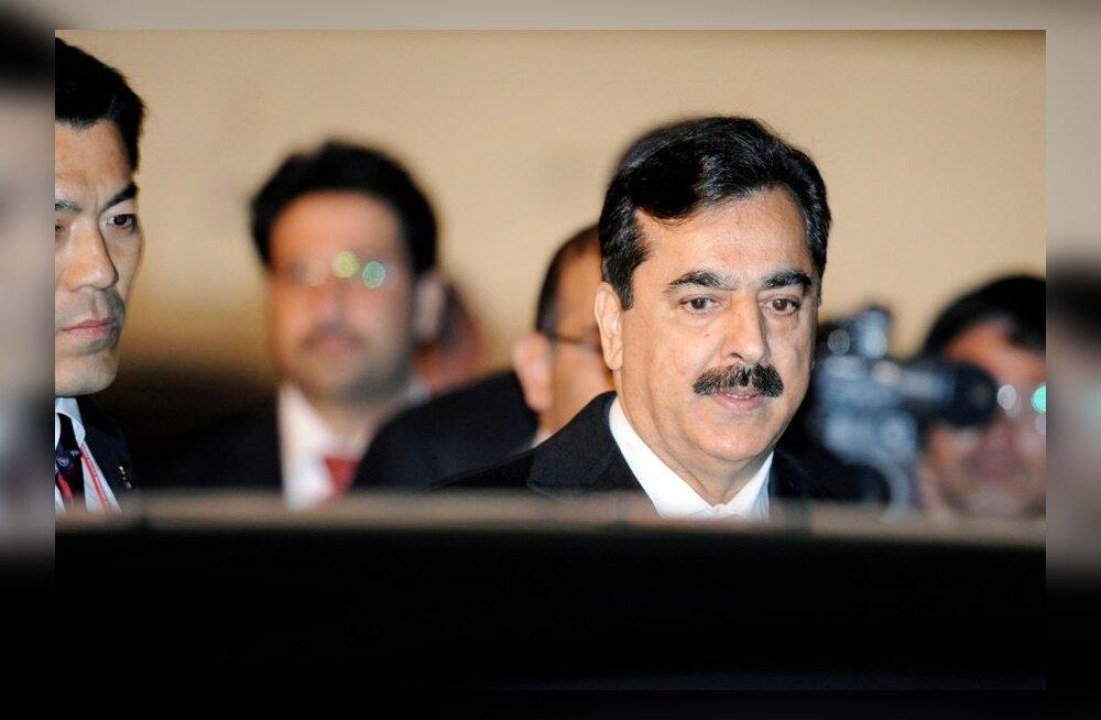 Relvastatud isikud röövisid Pakistani ekspeaministri poja