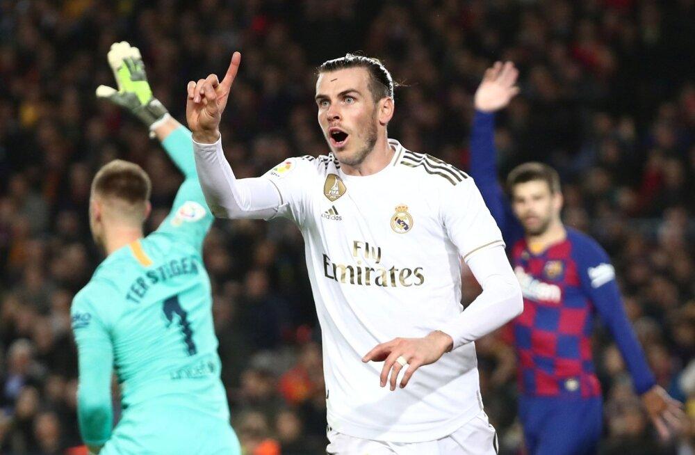Gareth Bale'i värav jäi suluseisu tõttu lugemata.