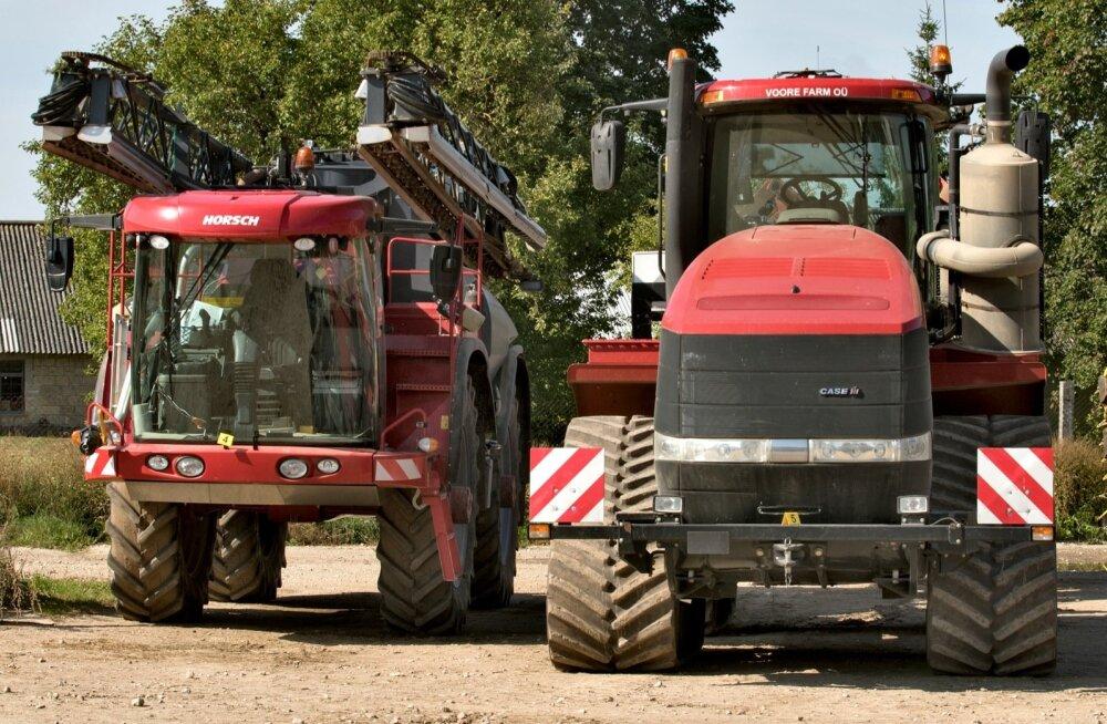 Voore Farmi masinatelt varastati mitmeid seadmeid.