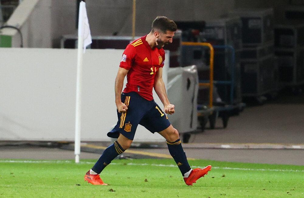 Rahvuste liiga | Saksamaa mängis Hispaania vastu viimasel minutil võidu maha, Läti ei suutnud Andorrale väravat lüüa