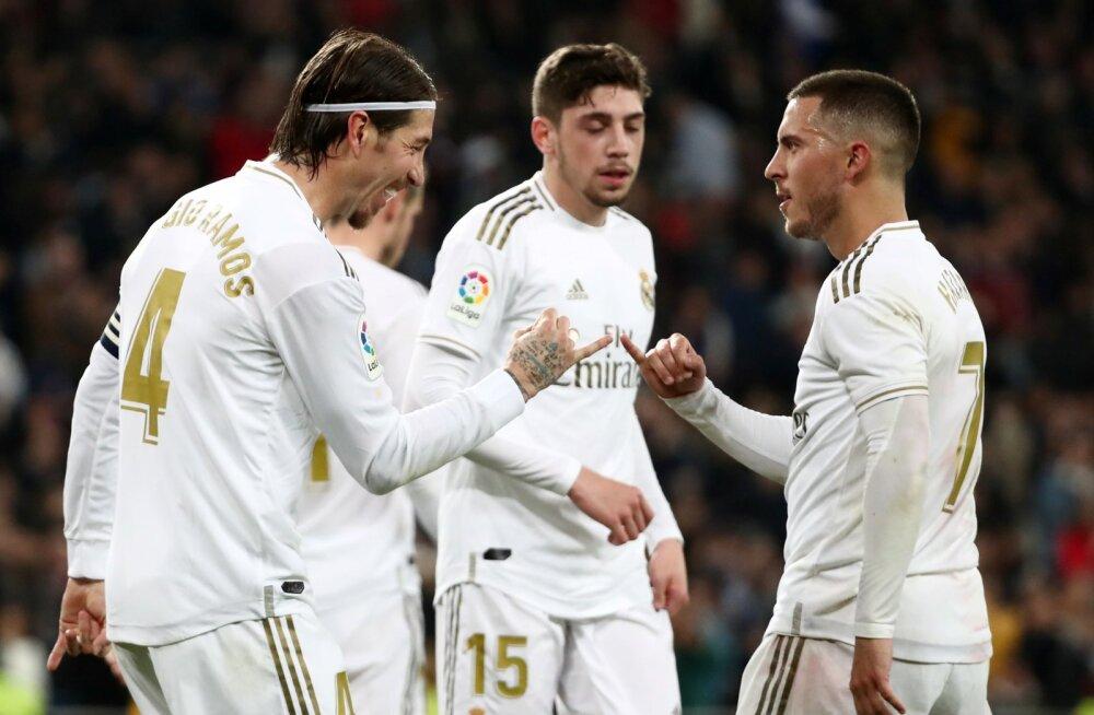 Madridi Reali tähtmängijad.