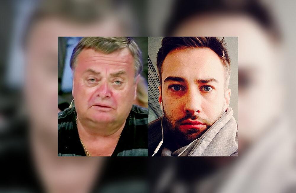 Žanna Friske isa Vladimir Friske ja elukaaslane Dmitri Šepelev