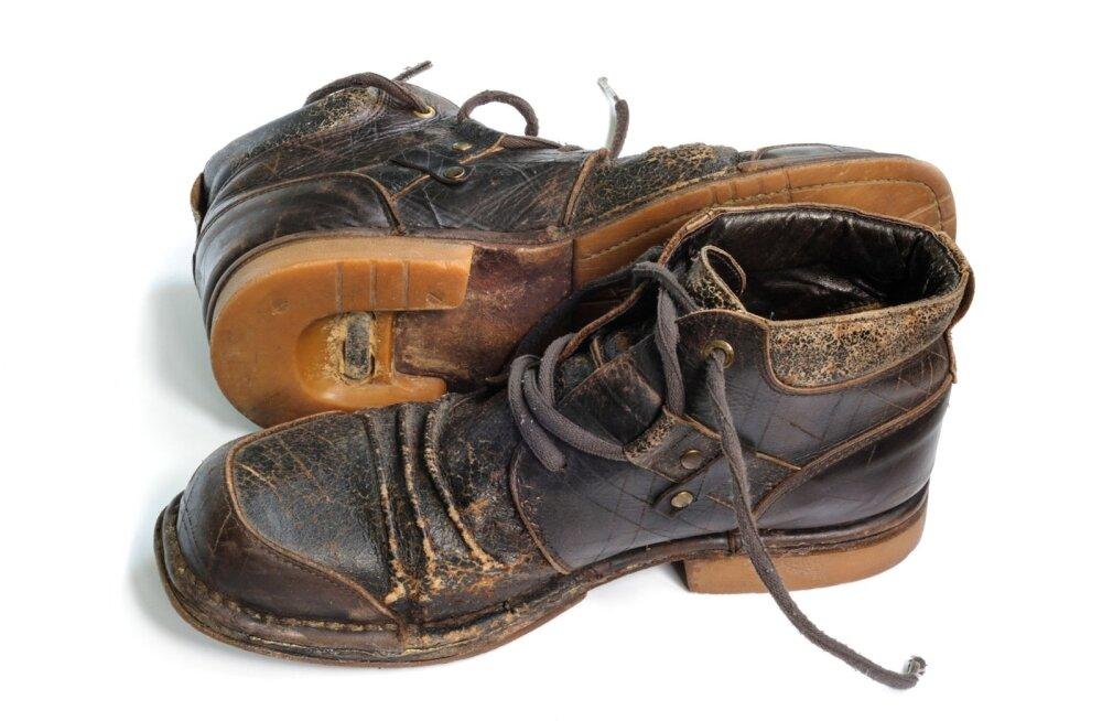 Hooldamata saapad kaotavad kiiresti oma väljanägemise ja saavad ruttu vanaks.