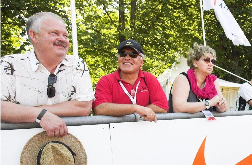 Jüri Tamm ja Juri Sedõhh (keskel)