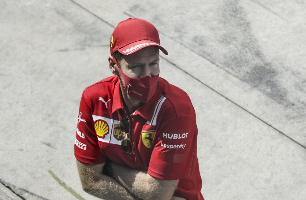 Sebastian Vettel viskas Ferrari üle nalja: simulaator peaks ehk veel koos püsima