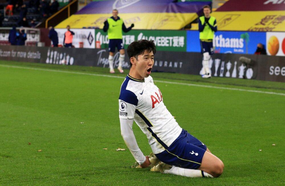 Tottenham sai Burnley üle napi võidu, duo Kane-Son tegi seda jälle!