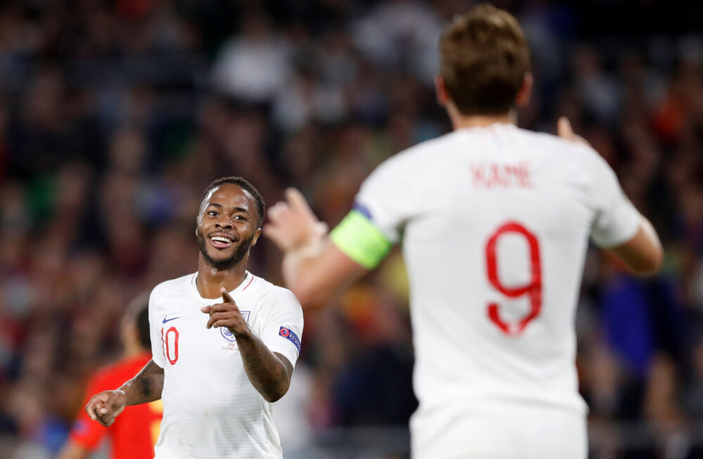 Raheem Sterling ja Harry Kane