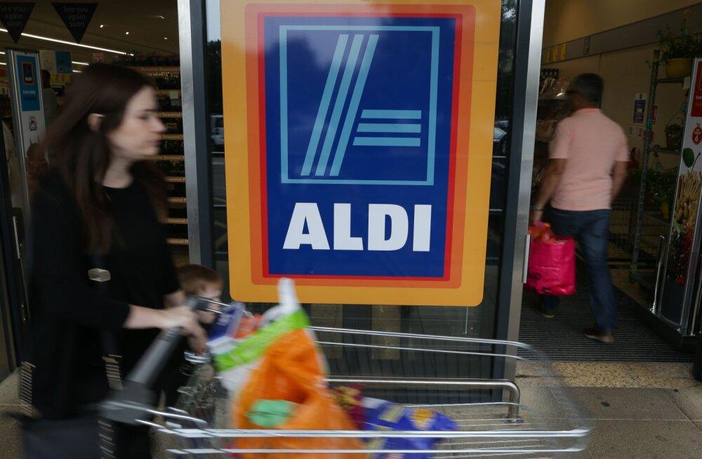 Saksa supermarketikett kasvatab Ühendkuningriigis hoogsalt käivet