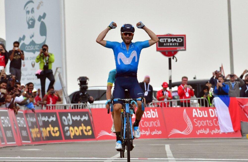 Valverde võitis Hispaania ühepäevasõidu, Taaramäe esisaja lõpus