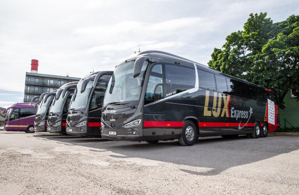 Lux Express введет на маршрутах внутри Эстонии месячные проездные билеты