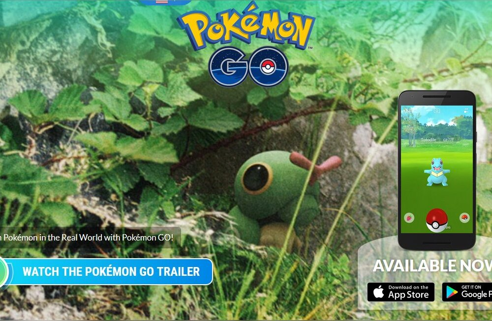 Mis toimub? Kahe aasta tagune megahitt-mobiilimäng Pokémon GO on taas tippu pürgimas!