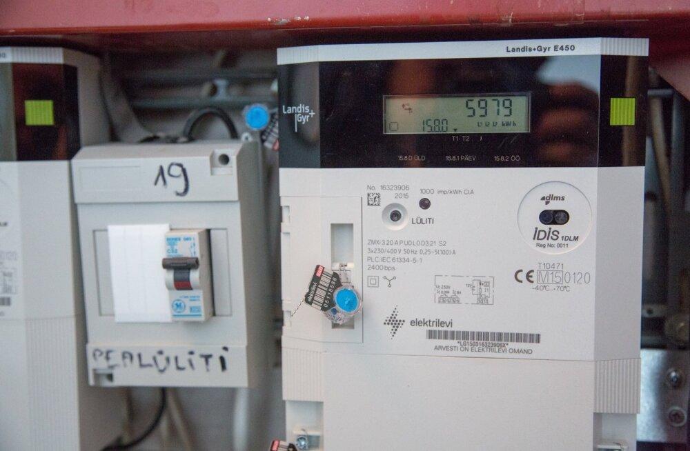 Elektriarvesti. Foto on illustratiivne.