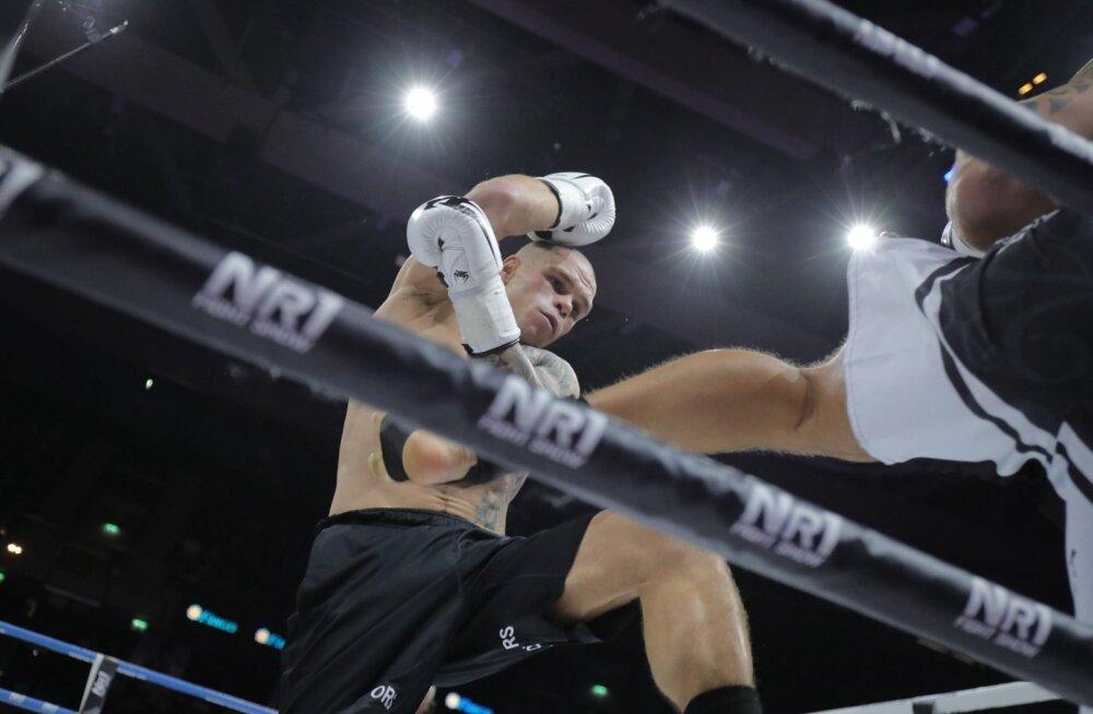 Kikkpoksija Mirkko Moisar võitleb laupäeval teise eestlasena mainekas Glory sarjas
