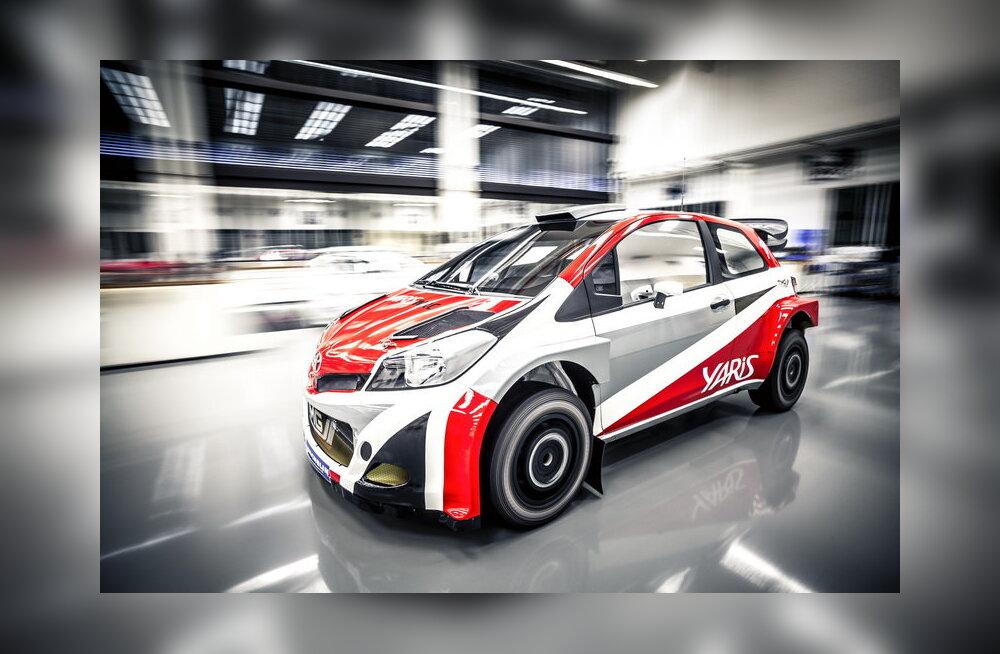 Toyota osaleb taas FIA autoralli MM-võistlustel