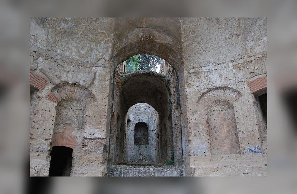 Keiser Hadrianuse villa all oli kilomeetrite kaupa tunneleid orjadele