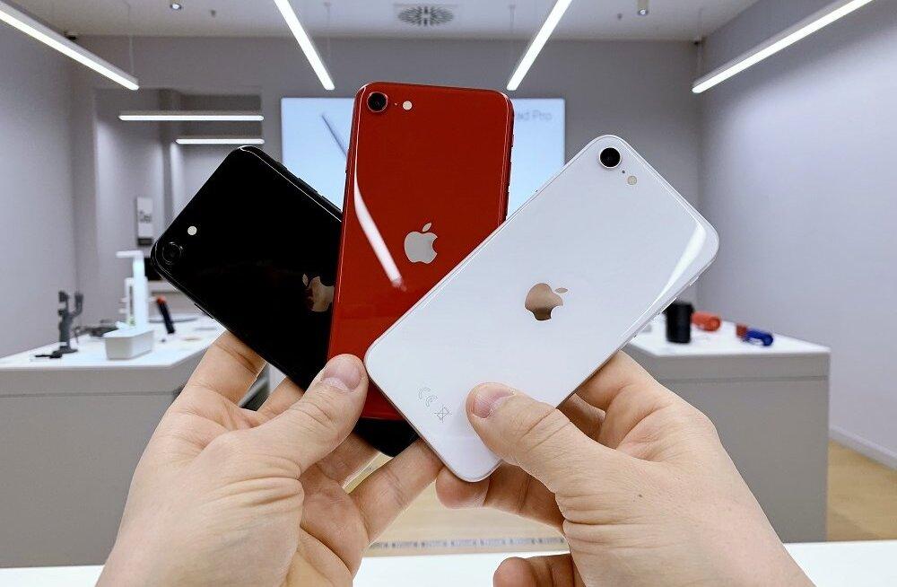 Teise põlvkonna iPhone SE toob tagasi kodunupu ja pakub telefonide lipulaevade kõiki eeliseid