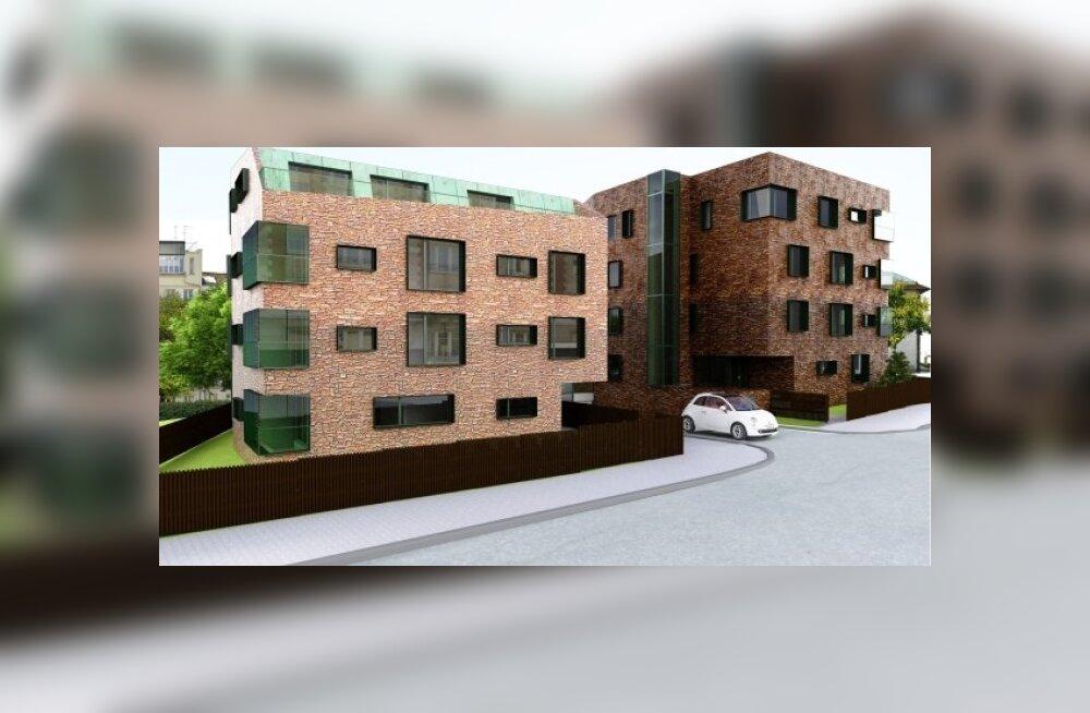 Compakt Kinnisvara rajab Nõmme keskusesse kaks uut korterelamut