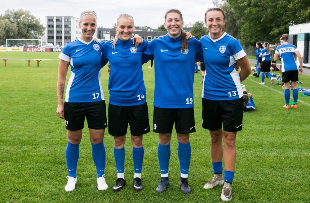 Pildil vasakult paremale: Kutter, Tammik, Kubassova ja Bannikova