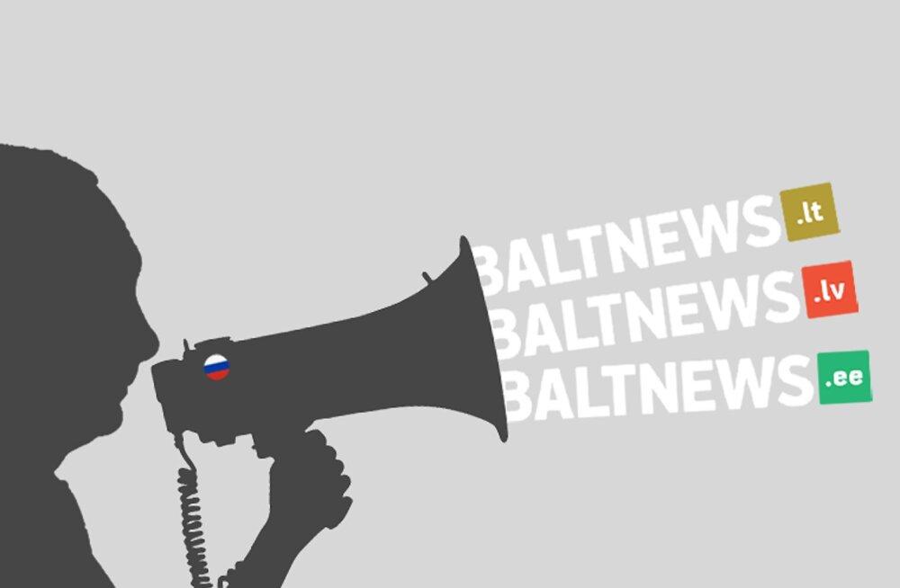 Работающий в Балтии портал Baltnews через подставные лица принадлежит российскому пропагандистскому холдингу
