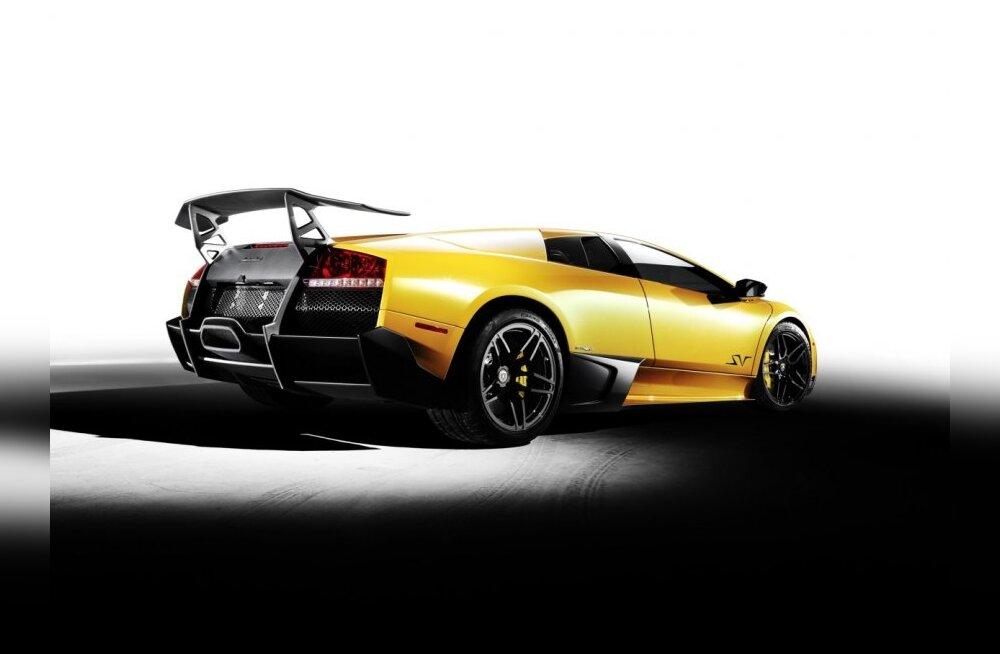 Paheline Lamborghini Murcielago LP670-4 Superveloce
