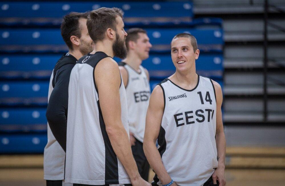 Eesti korvpallikoondise treening, Rain Veideman