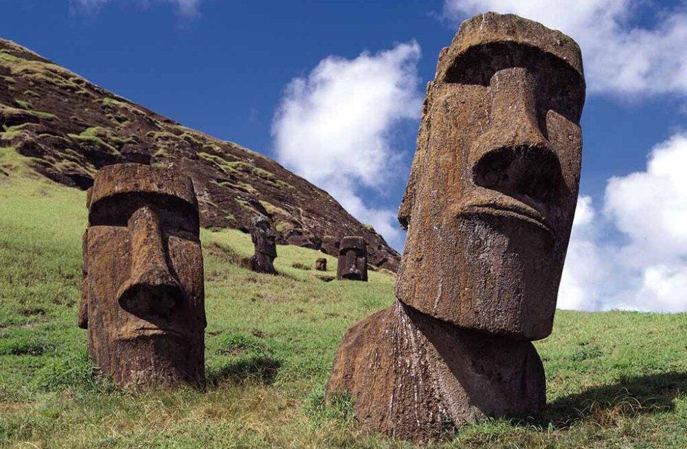 Что скрыто под головами на острове Пасхи?