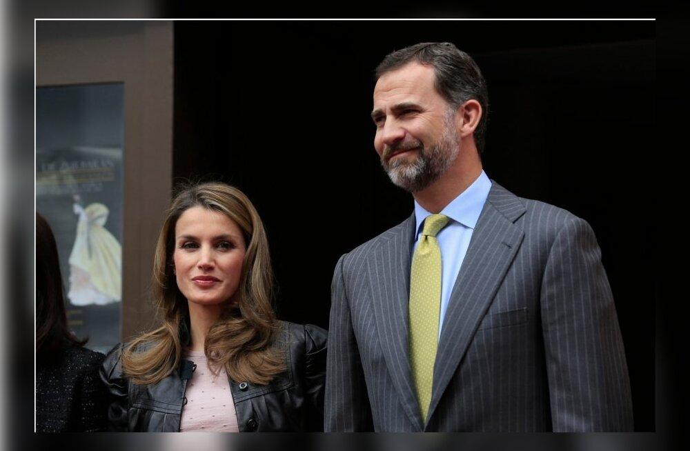 Hispaania kroonprints vilistati Barcelona ooperiteatris välja