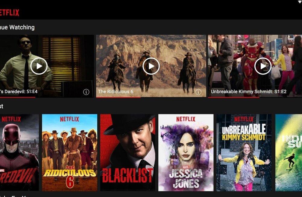 Netflixi videoteenus Androidile: nüüd varasemast nii vägevam kui ka halvem!